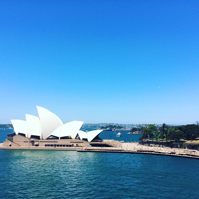 Back in Sydney...lovely day for a wander.  #TotallyDidntLoseMyWayAgainInSydney