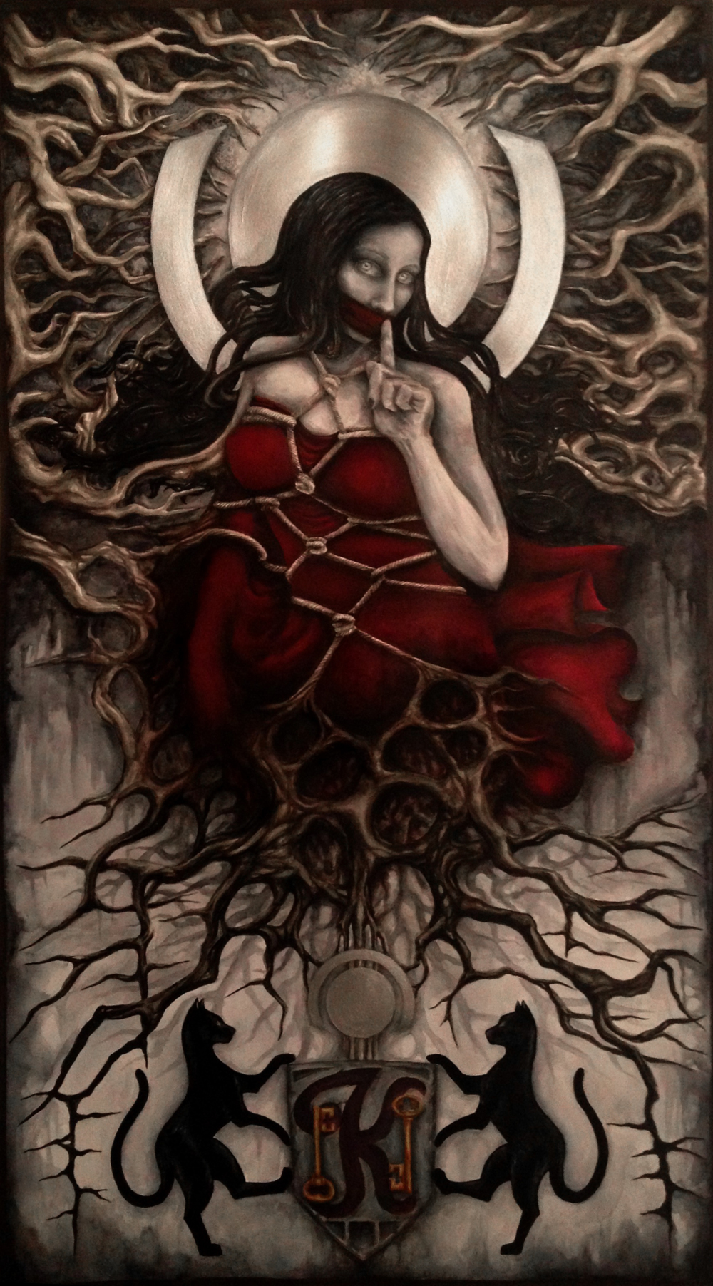Angerona painting
