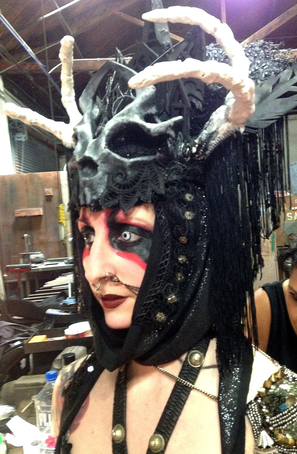 Queen of Death Headdress & Epaulette