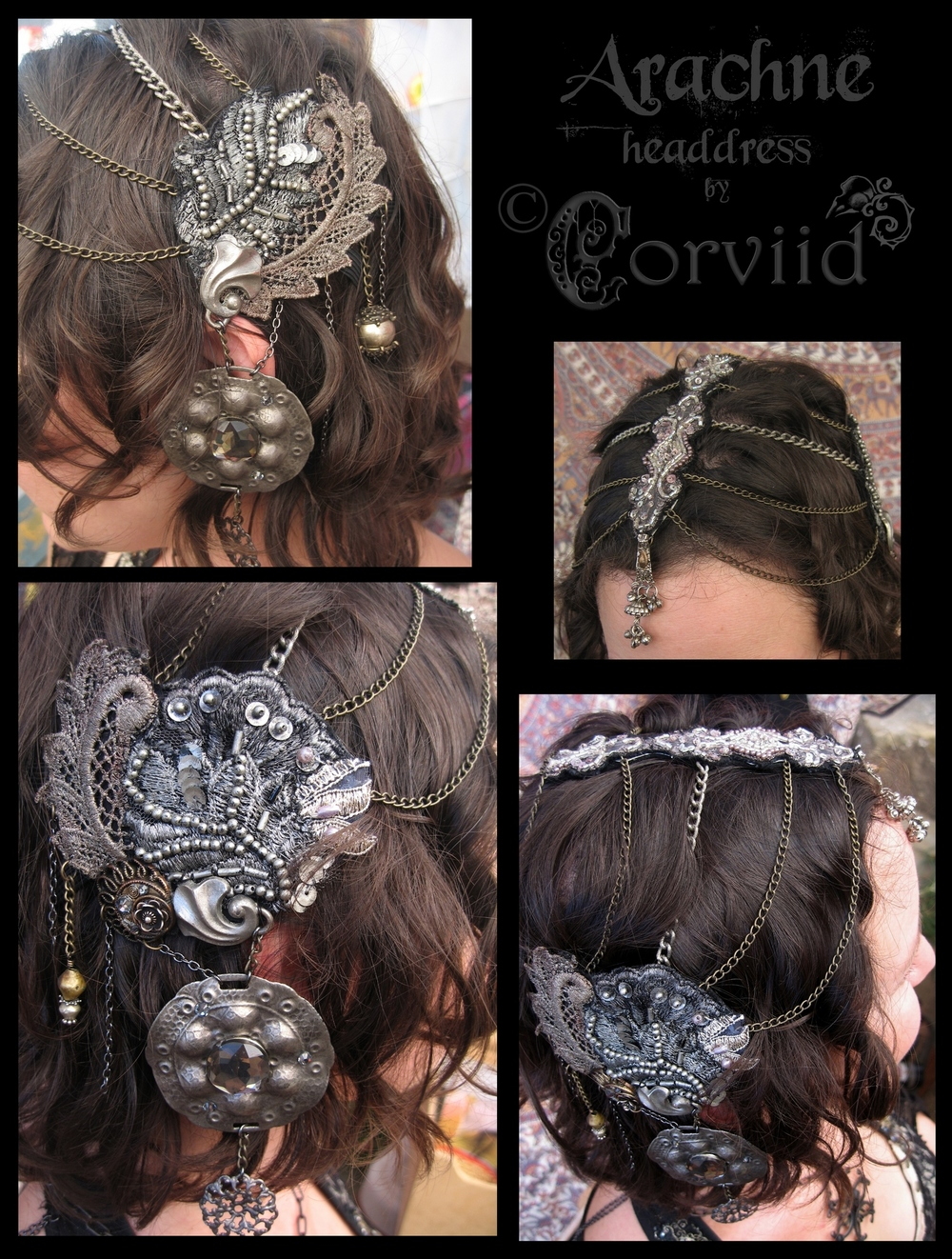 Arachne Headdress
