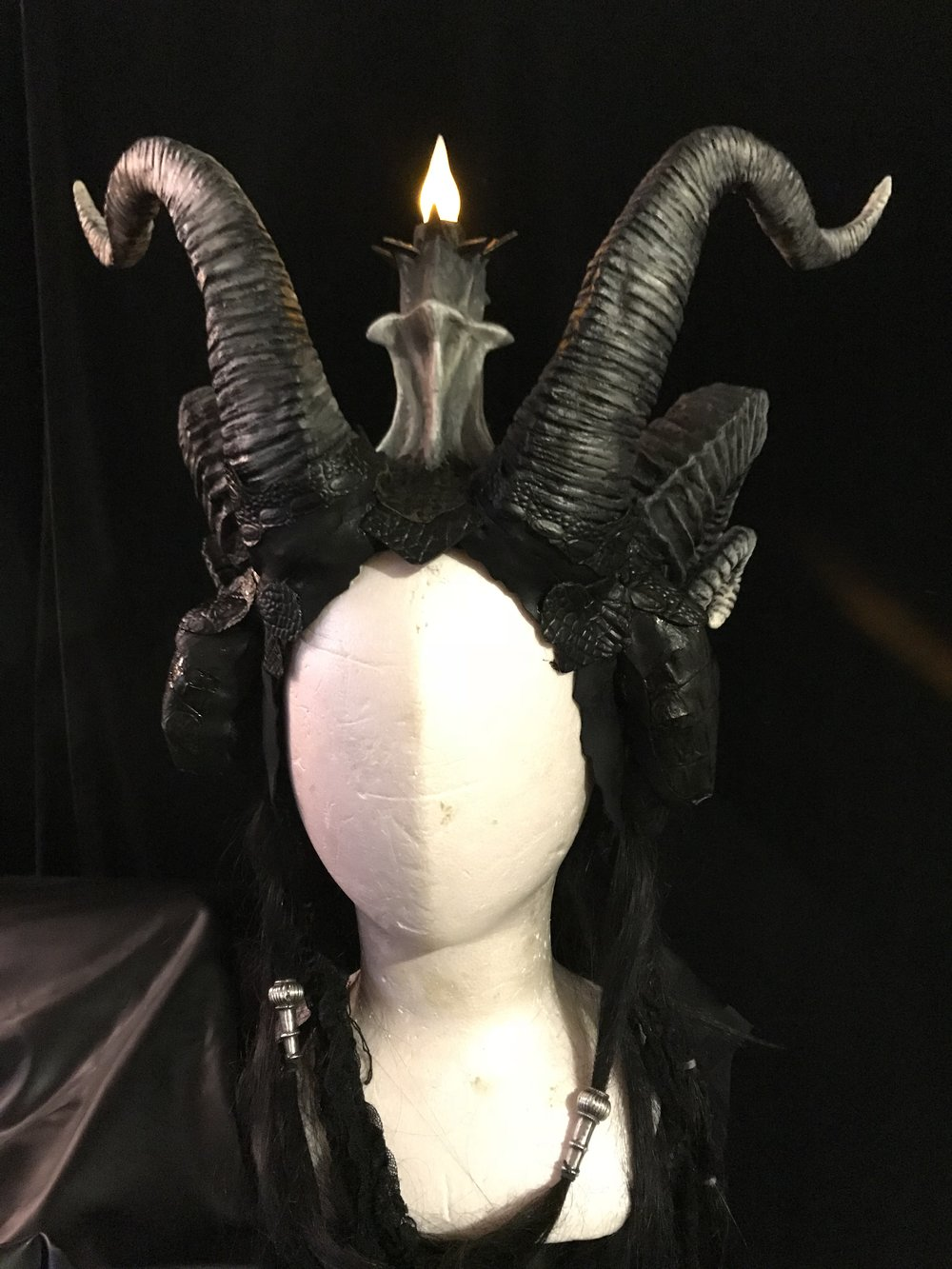 Baphomet headdress