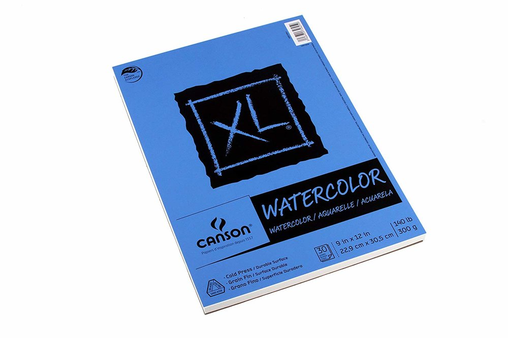 canson watercolor paper, $6