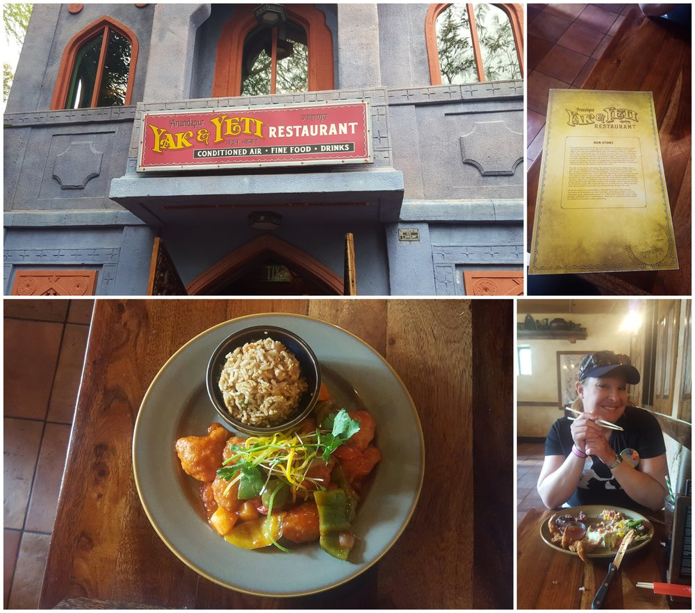 We had lunch at Yak and Yeti, it was our first time trying this restaurant and I give it a big thumbs up. The sweet and our chicken was very good and the cream cheese wanton desert..... best thing ever!