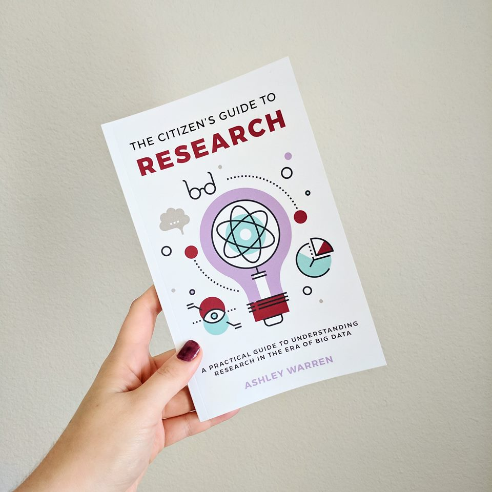 The Citizen's Guide to Research - Out now in print and digital