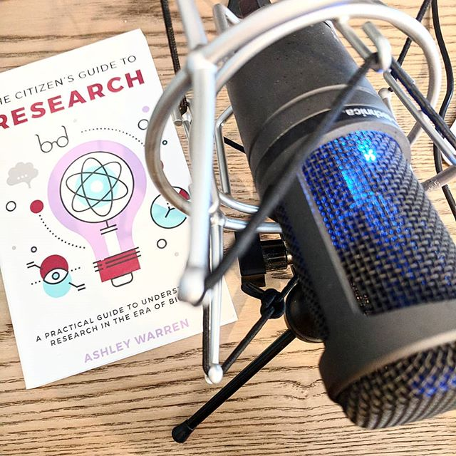 Recording a podcast for @bitchteamalpha's #FemocraticProcess and chatting about citizen research! Looking forward to sharing the episode with you in the next month!