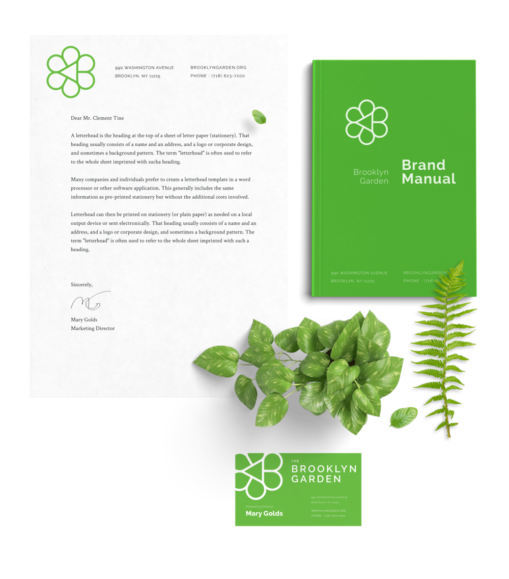 Letterhead and collateral