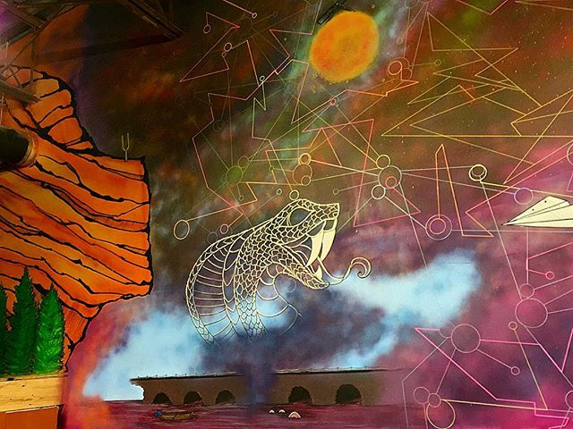 #mural #details #snake #redrocks #paperplanes #freehand #drawing #painting #abstract #sketch #colorful #sky #pattern #interior #streetart #graffiti #style #art #work #flow #norm4eva