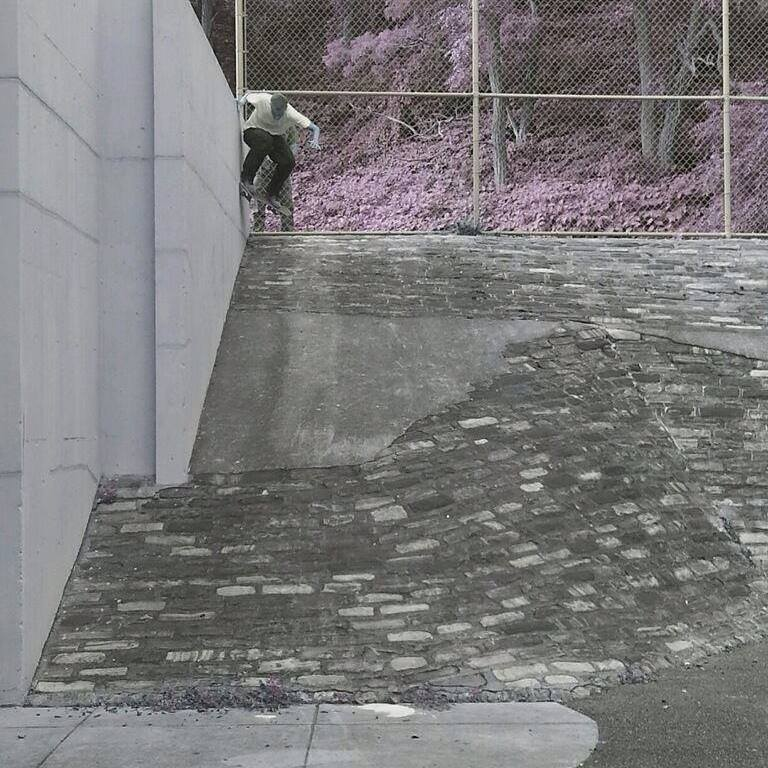 Steve D Wallride into bank