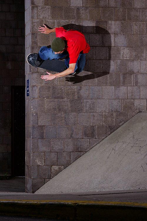 Steve D - Backside wallride