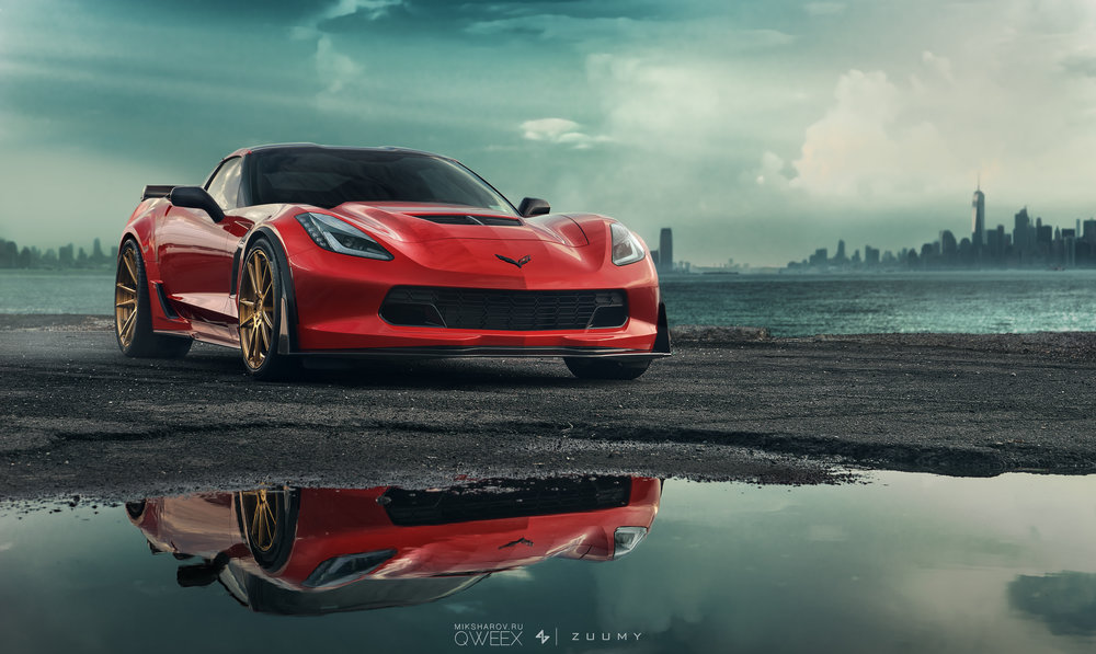 This is another Single Photo package on this C7 Z06 Corvette.