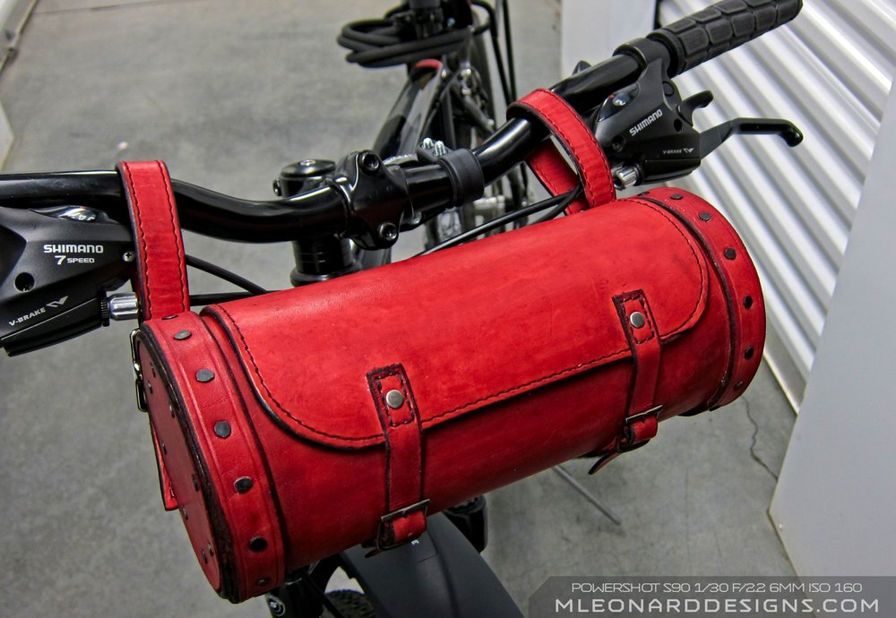 Red Bike Canister