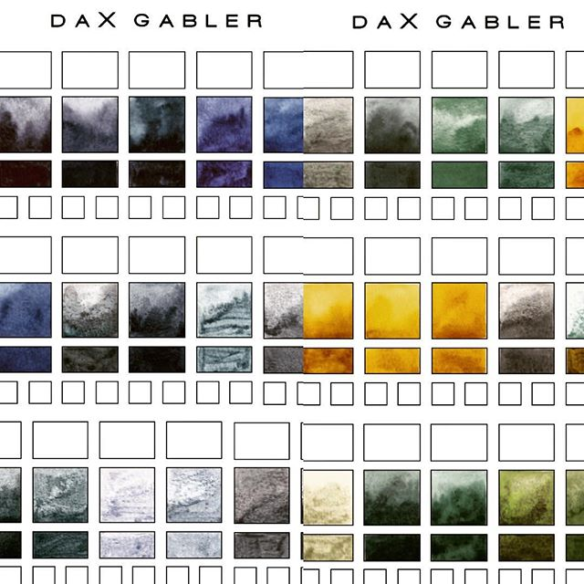 👁 #ColorPalette #ColorMood #DaxGabler Life