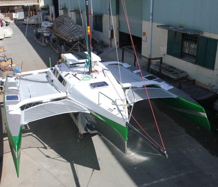 Corsair 760 Overhead View