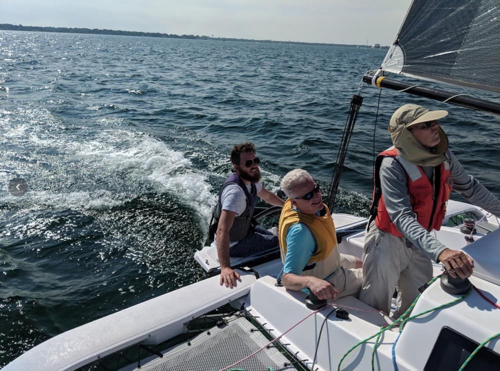 Corsair 760 - 2018 Performance Trimaran Sailing Clinic, Fort Walton Beach, Florida  Corsair trimaran FAQ's - Be informed >>