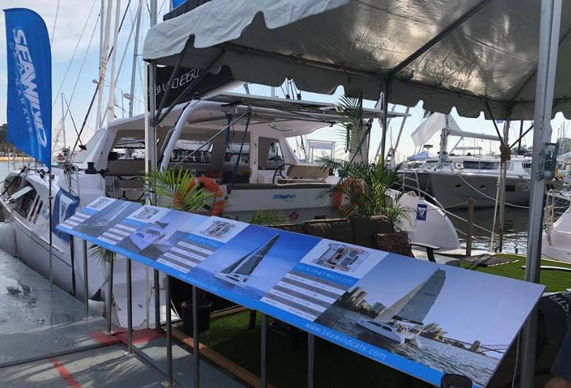 Seawind Catamaran at Annapolis 2018