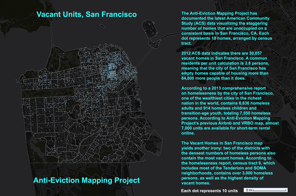 Vacant Units in San Francisco