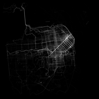 San Francisco cycling map