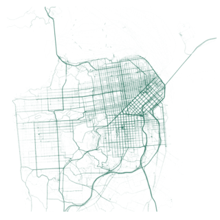 San Francisco motorized transportation map