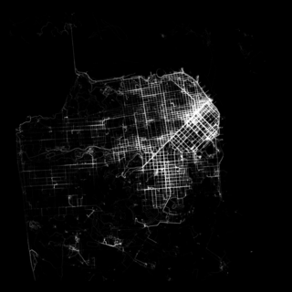 San Francisco walking map