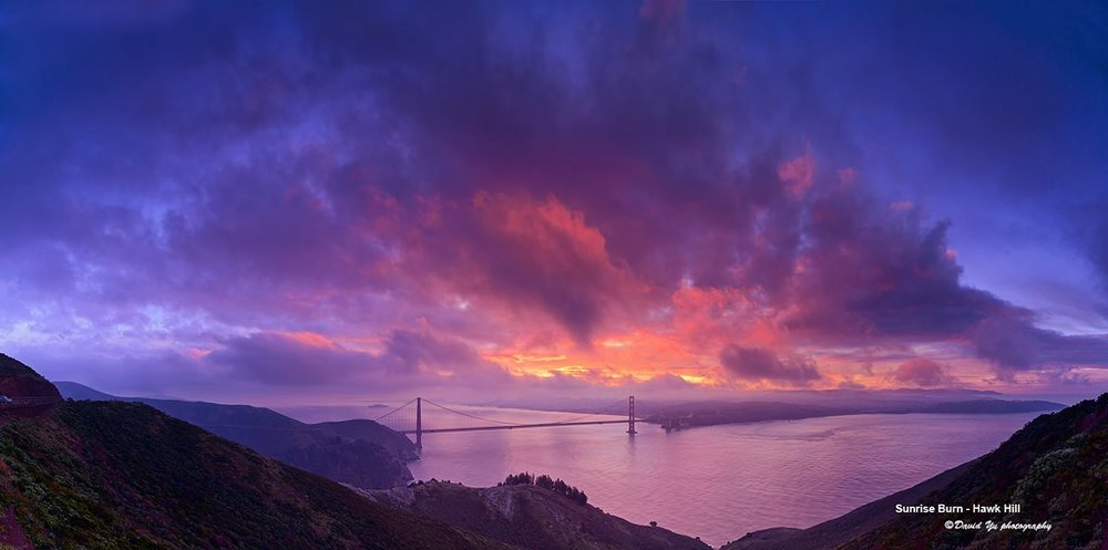 Figure 1. Hawk Hill at sunrise (Photo Credit :    David Yu   )