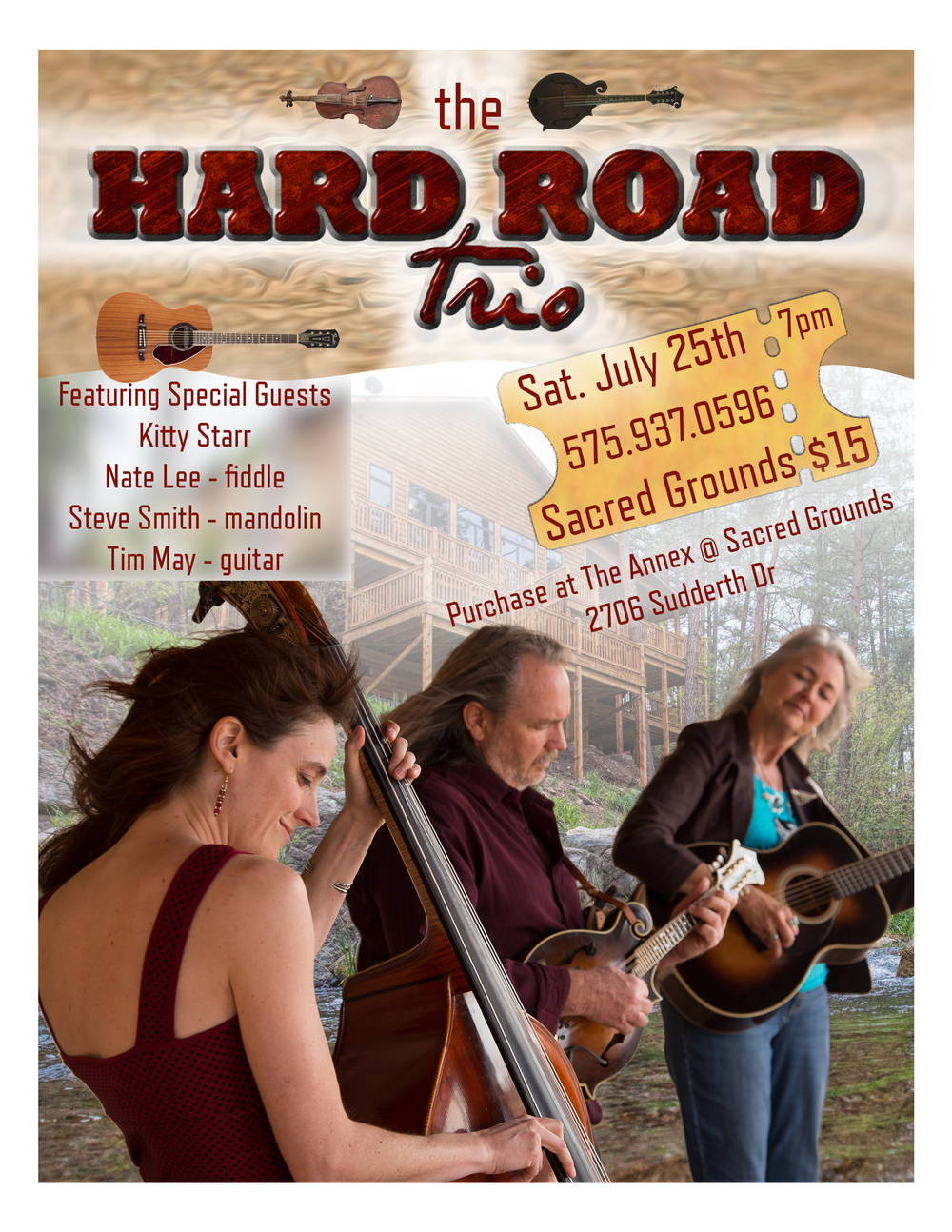 the hard road trio poster