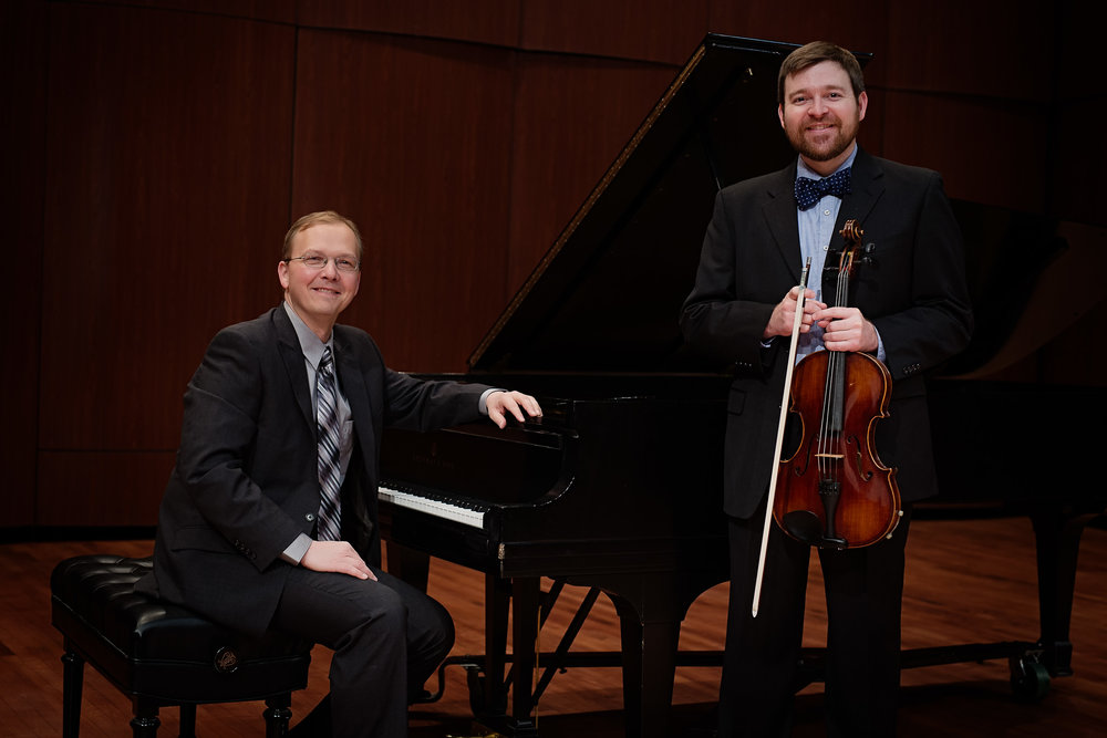 Dominic Dousa, piano and Stephen Nordstrom, viola