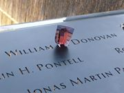 Marker at the New York City 9/11 Memorial