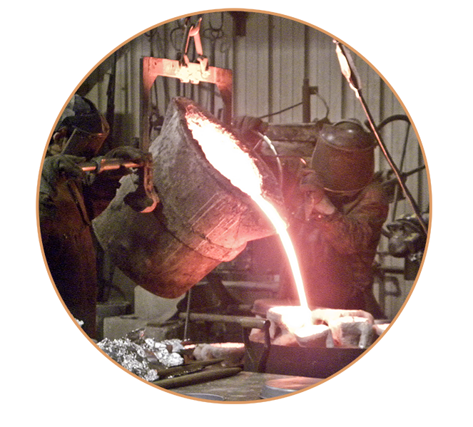 Bronze casting at Laran Bronze Foundry. How bronze sculpture is made