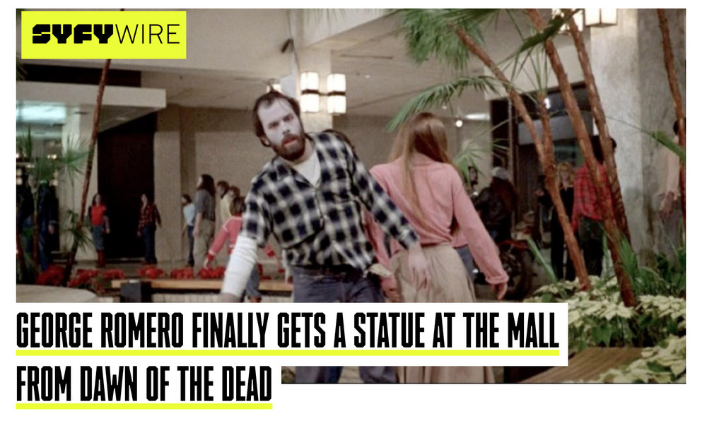 You can view the full article on SYFY's website here:  syfy.com/romero_bust