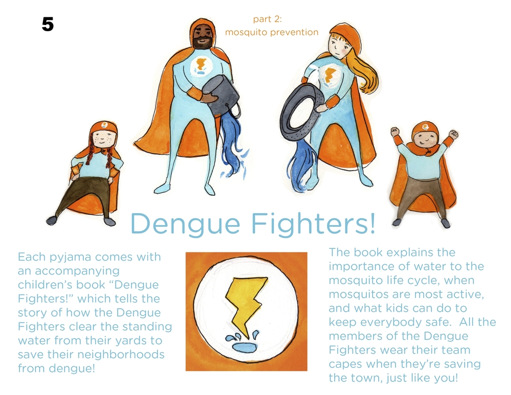 Dengue Fever Fighters - Samantha Dempsey