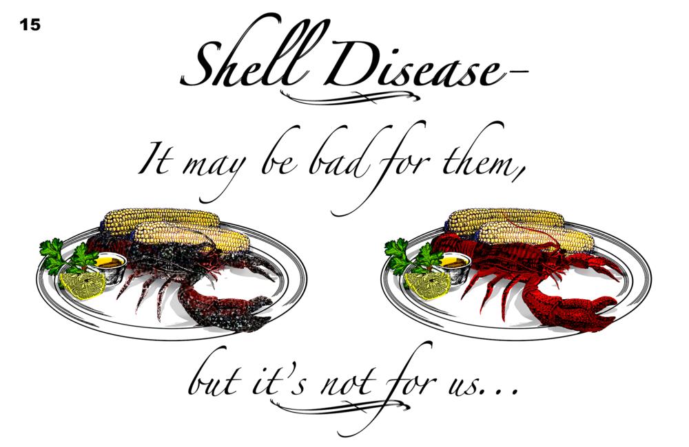Lobster shell disease - Bonnie Cohen