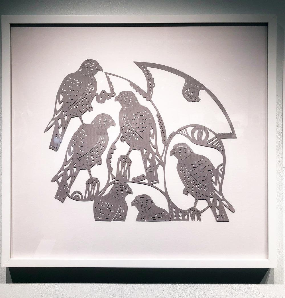 Kestrel Mandala by Ingrid Erickson