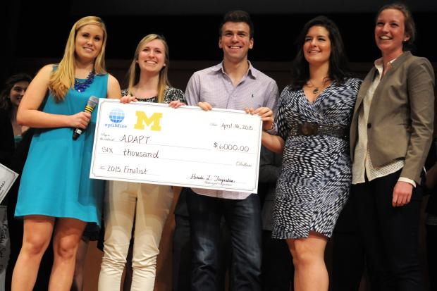 Students present entrepreneurial projects at optiMize - Michigan DAily