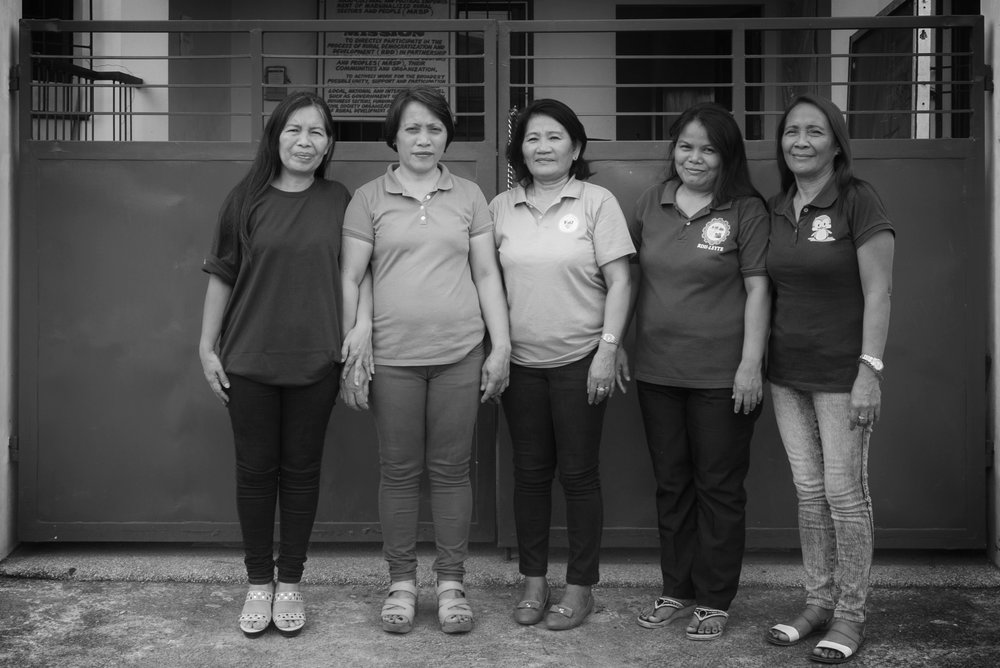 Some of the RDI community facilitators.  RDI Leyte is a larger team consisting of many volunteers who generously give their time and effort everyday.