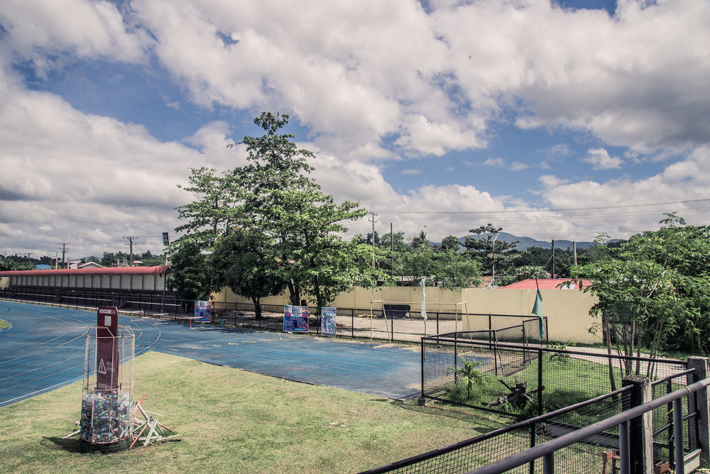 Ormoc City's current main sports facilities - Site for Ormoc's New Boxing Club
