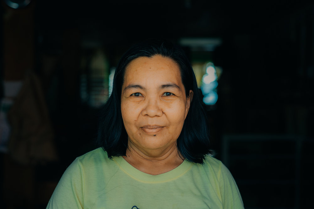 MERLINA LUMAKIN - Native Material Coordinator   Together with her team of weavers, Merlina  assists Native Narrative with production of interior materials for our non-profit architecture projects.