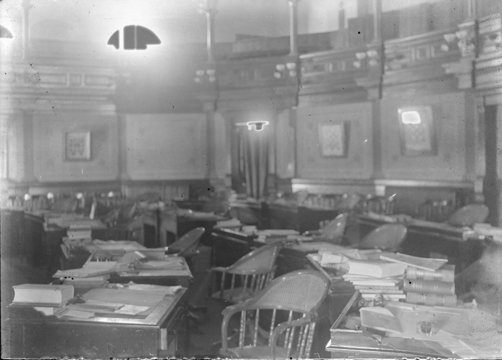 Senate Chambers - 1901