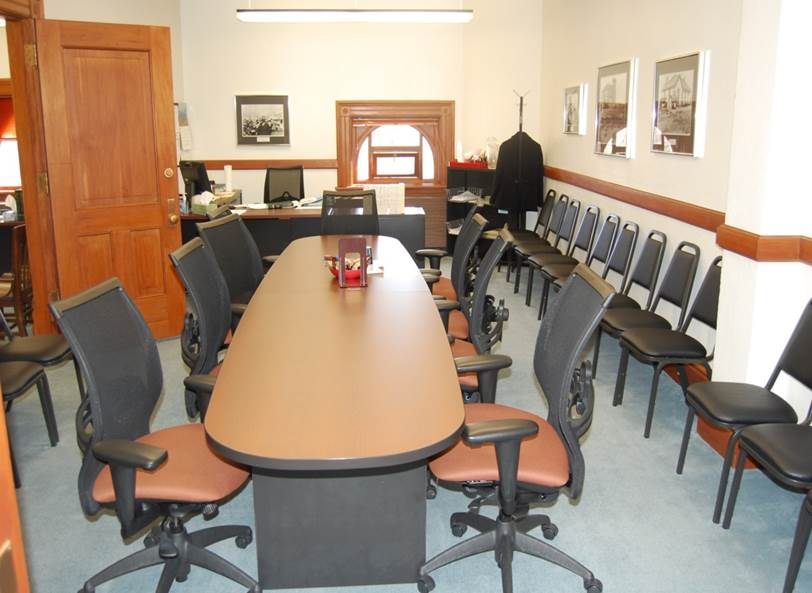 Undersized Public Meeting Rooms
