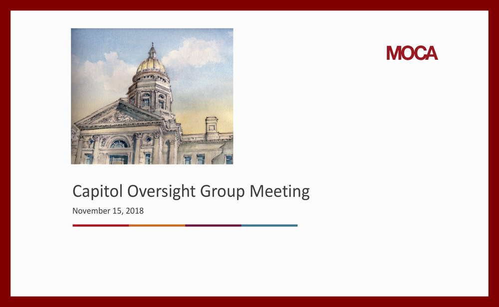 november 15 2018 presentation to capitol building restoration