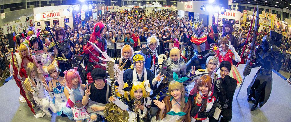 Photo taken at Anime Festival 2017 (Singapore)