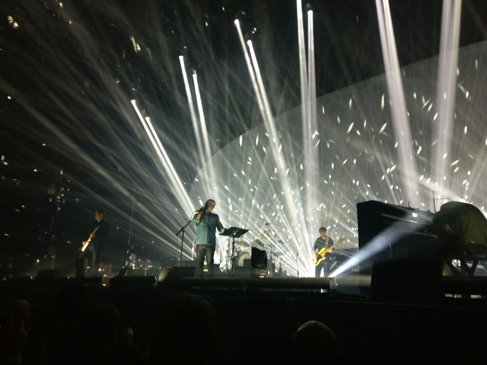 Radiohead at Key Arena in Seattle on April 8, 2017