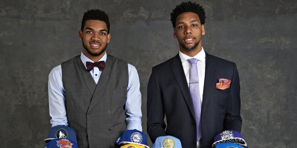 Two of this years one and done stars, Karl-Anthony Towns of UK and Jahlil Okafor of Duke