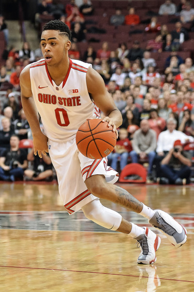 Potential One and done lottery pick for this years draft, D'Angelo Russell from Ohio State