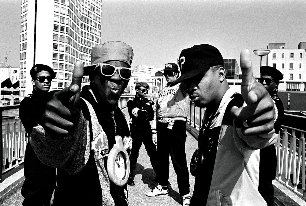 Legendary Rap Group Public Enemy