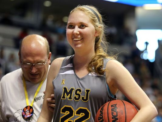 Lauren Hill was the brave young lady who continued her college basketball career despite knowing she would die.