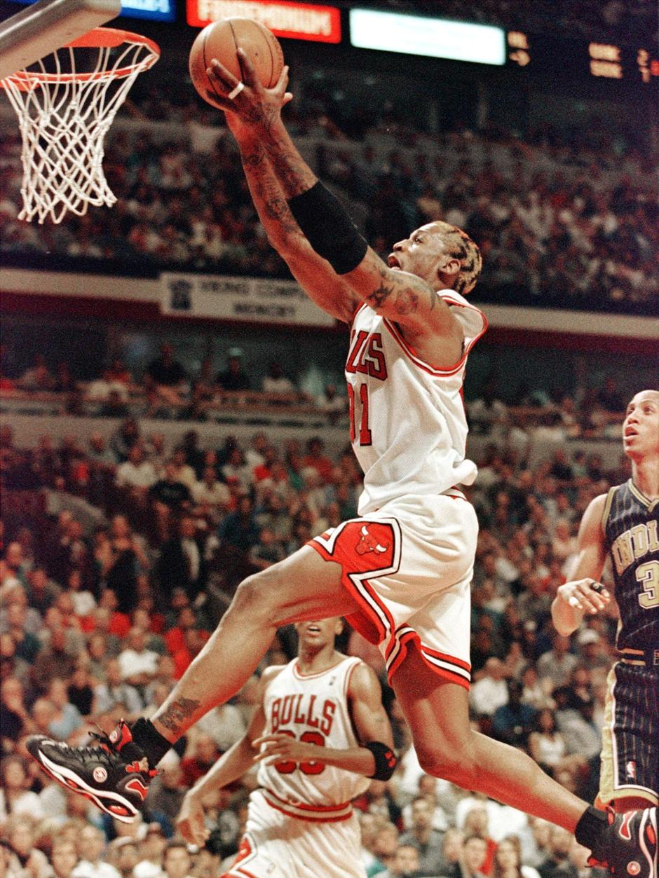 Say what you want about Rodman, there wasn't a better athlete or a rebound he couldn't grab