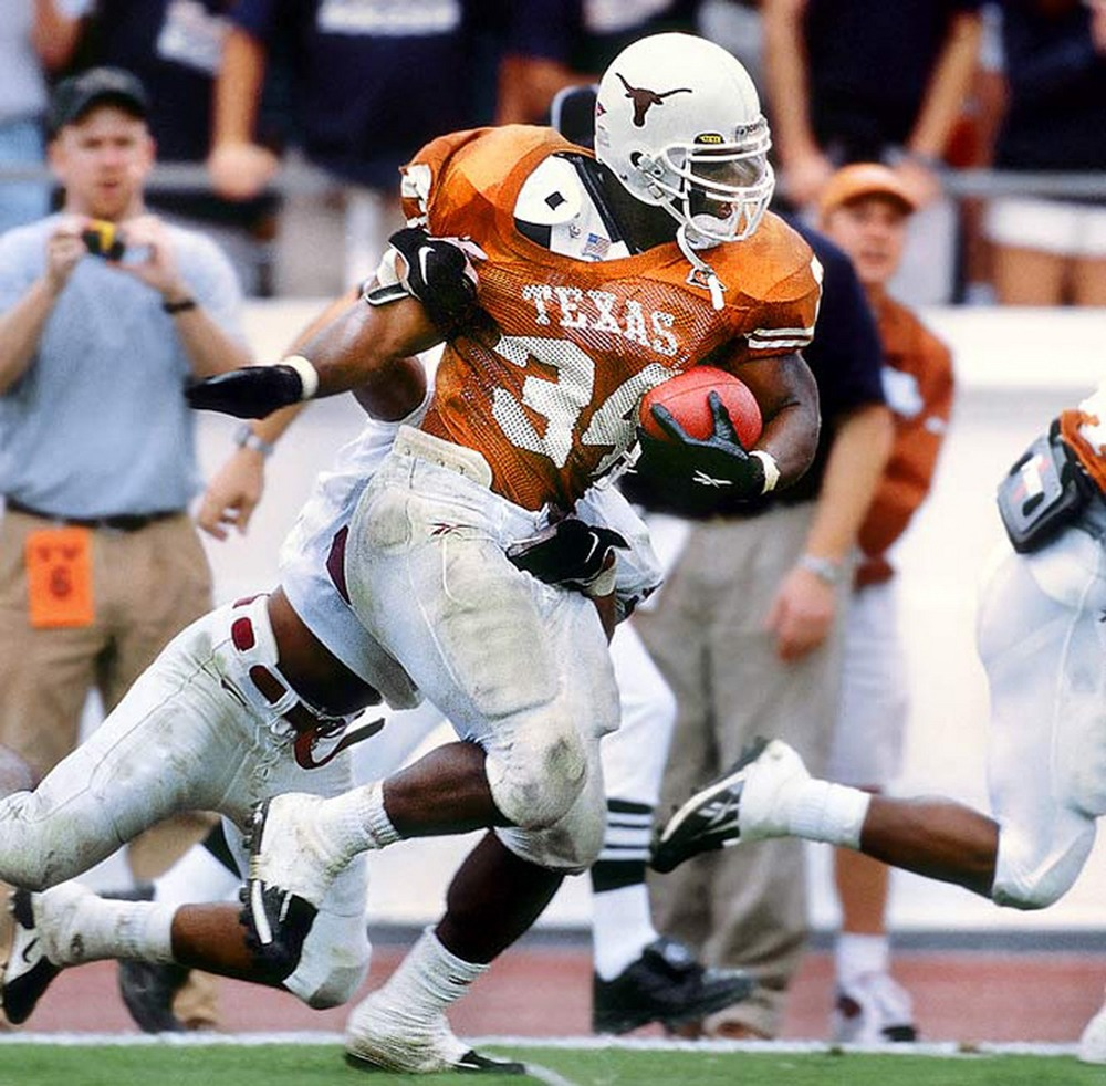 A star running back at the University of Texas. Williams would set the college football career rushing record, win the Heisman trophy and turn into a highly sought after draft pick.