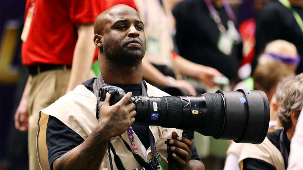 "Photography, a hobby Ricky Williams didn't pick up until he started doing ""What he wanted to do!"""
