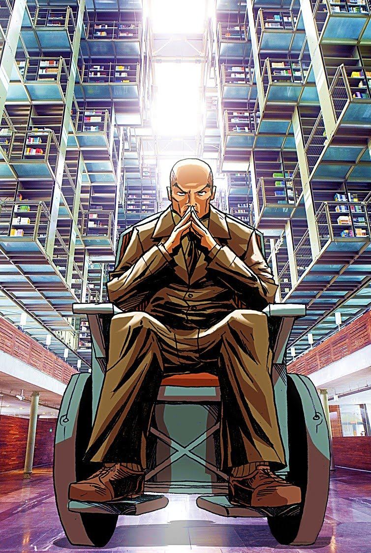 Professor X, the most powerful telepath in the world, atleast by comic book standards, lol.  But what if the potential for this is real.