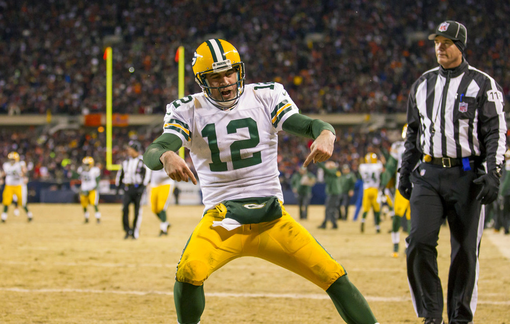 Rodgers Discount Double Check earned him millions in endorsements.